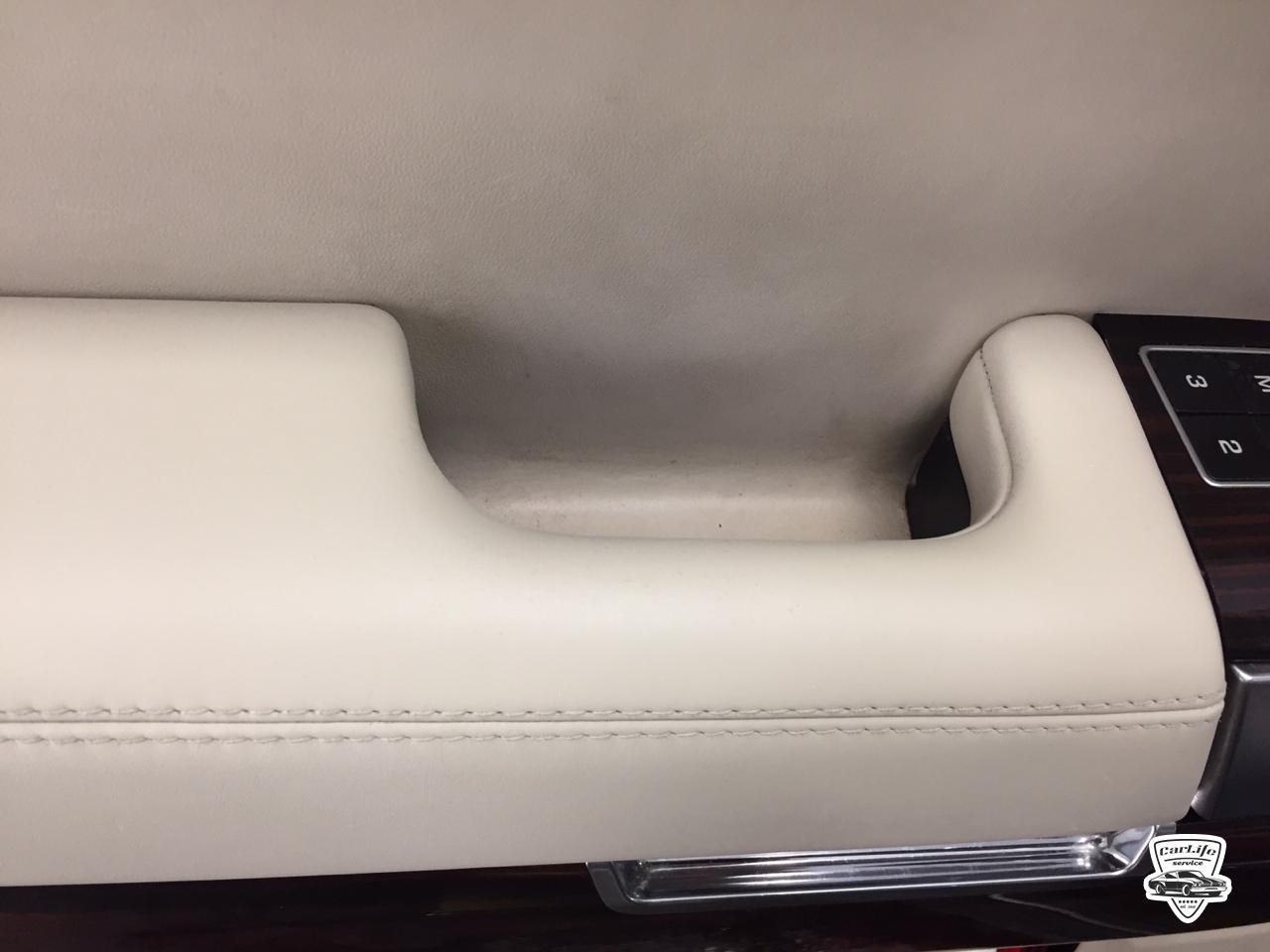 Реставрация подлокотника Рендж ровер евок 237