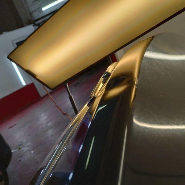 Ремонт вмятин на багажнике Шевроле Круз