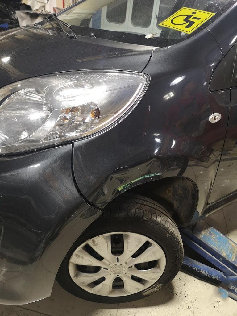 Покраска деталей автомобиля до/после в Москве картинка 1