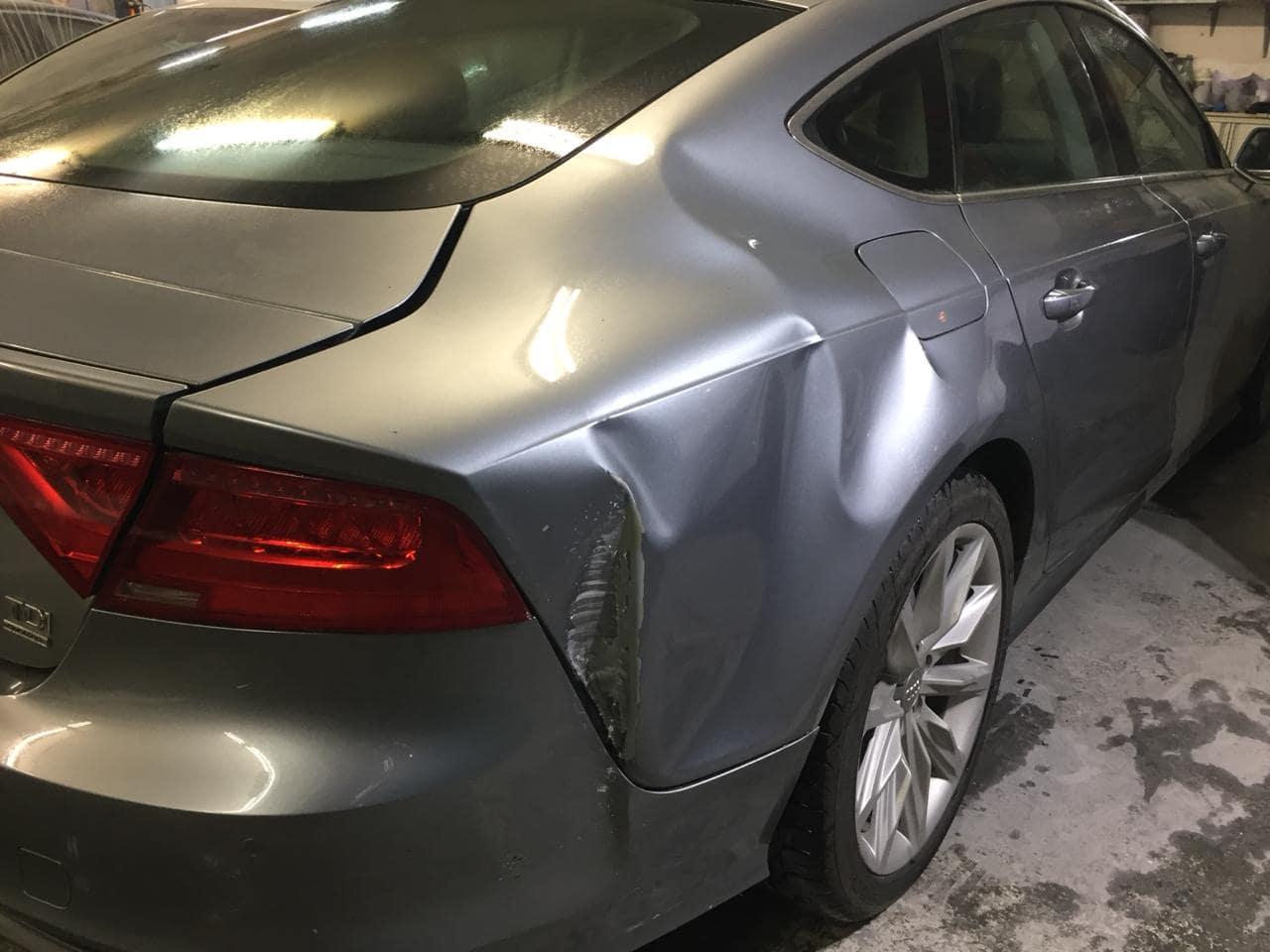 Кузовной ремонт автомобиля до/после в Москве картинка 1