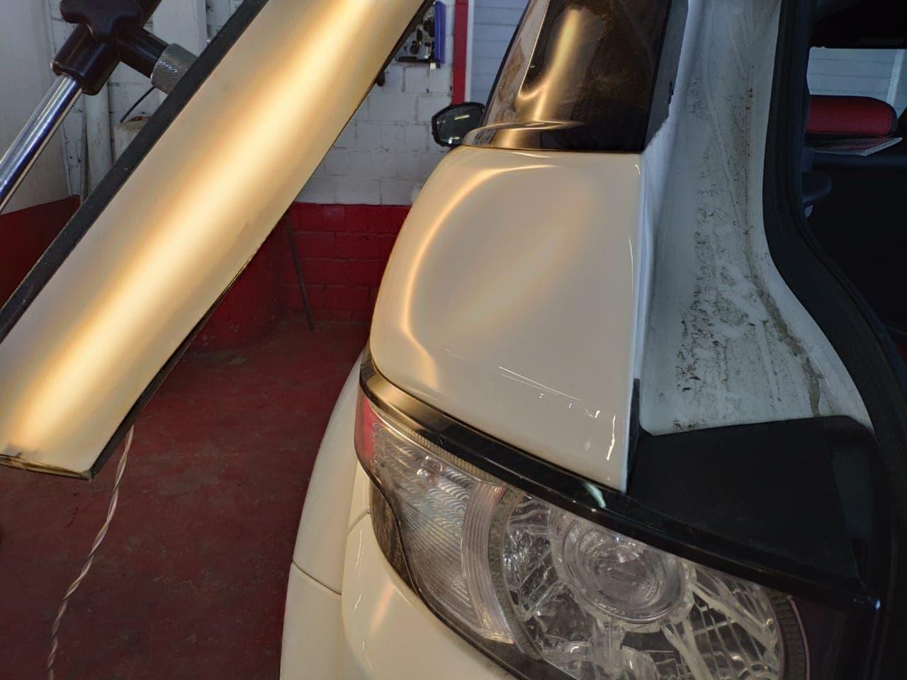 Удаление вмятин в Москве на Range Rover Evoque