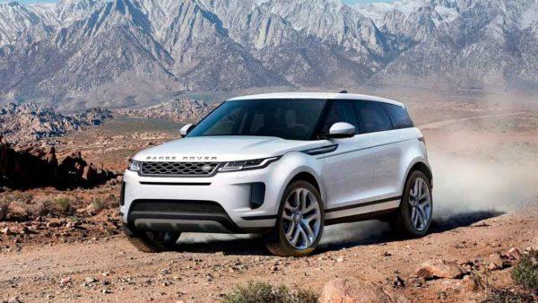 Удаление вмятин с крыла Range Rover Evoque