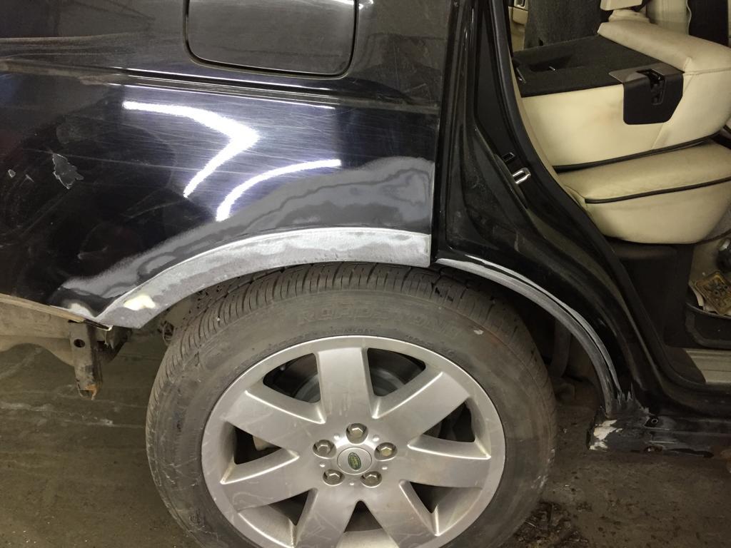 кузовной ремонт рендж ровер вог 99