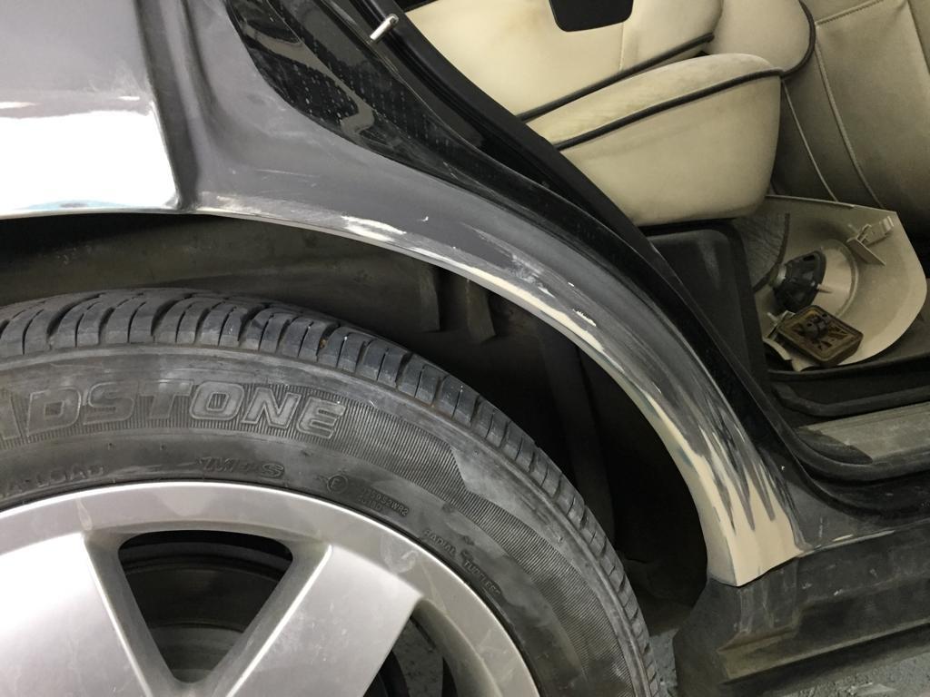 ремонт арок Range Rover Vogue 66