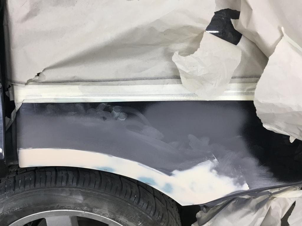 ремонт арок Range Rover Vogue 88