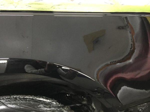 ремонт арок рендж ровер 55