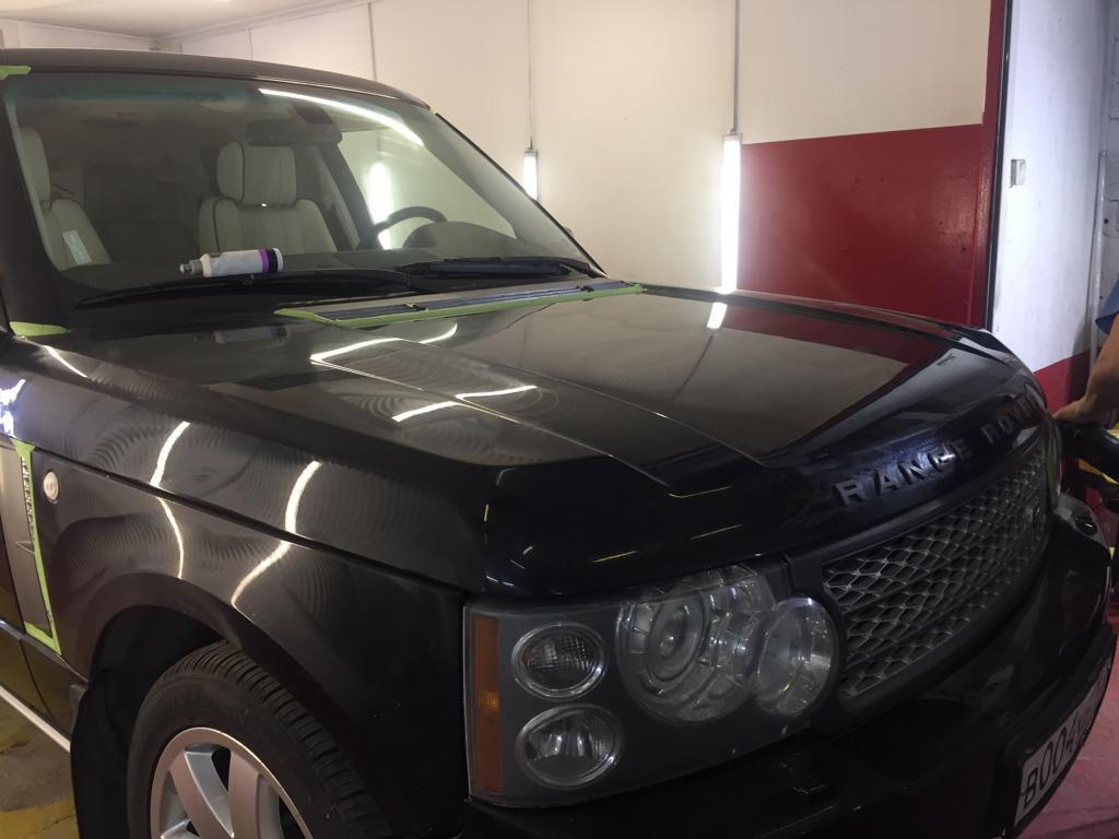 полировка крыла Range Rover Vogue 44