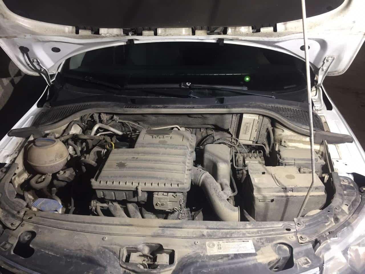 мойка двигателя паром шкода октавия 44