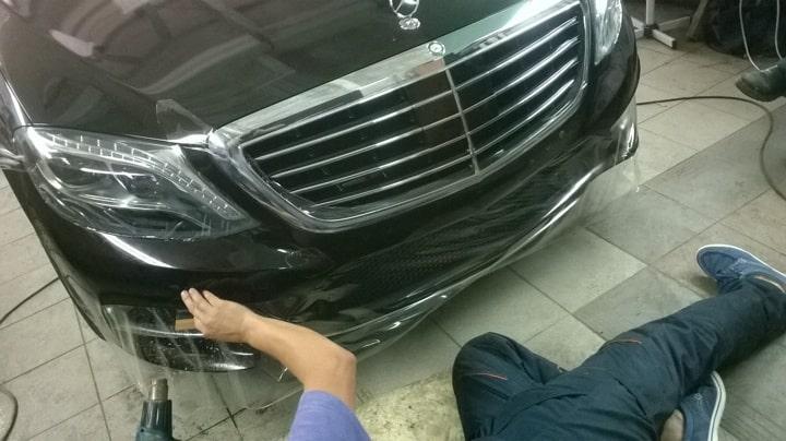 Бронирование фар автомобиля в Москве картинка 3