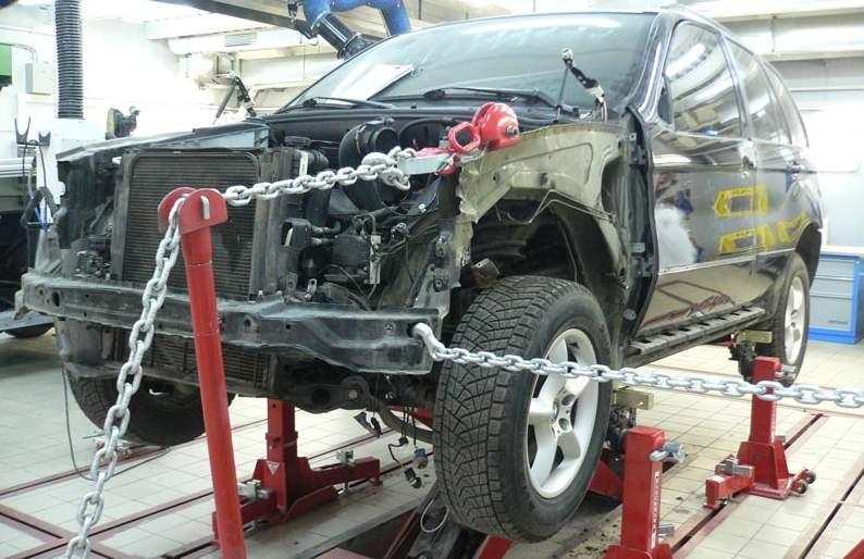 Восстановление, ремонт геометрии кузова авто в Москве картинка 1