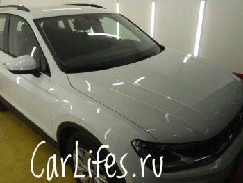 Удаление следов от тополя на машине в Москве картинка 2