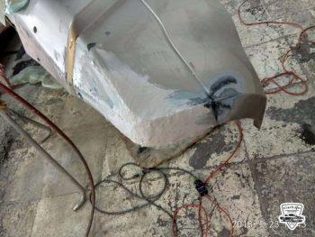 Сложный ремонт бампера в Москве картинка 5