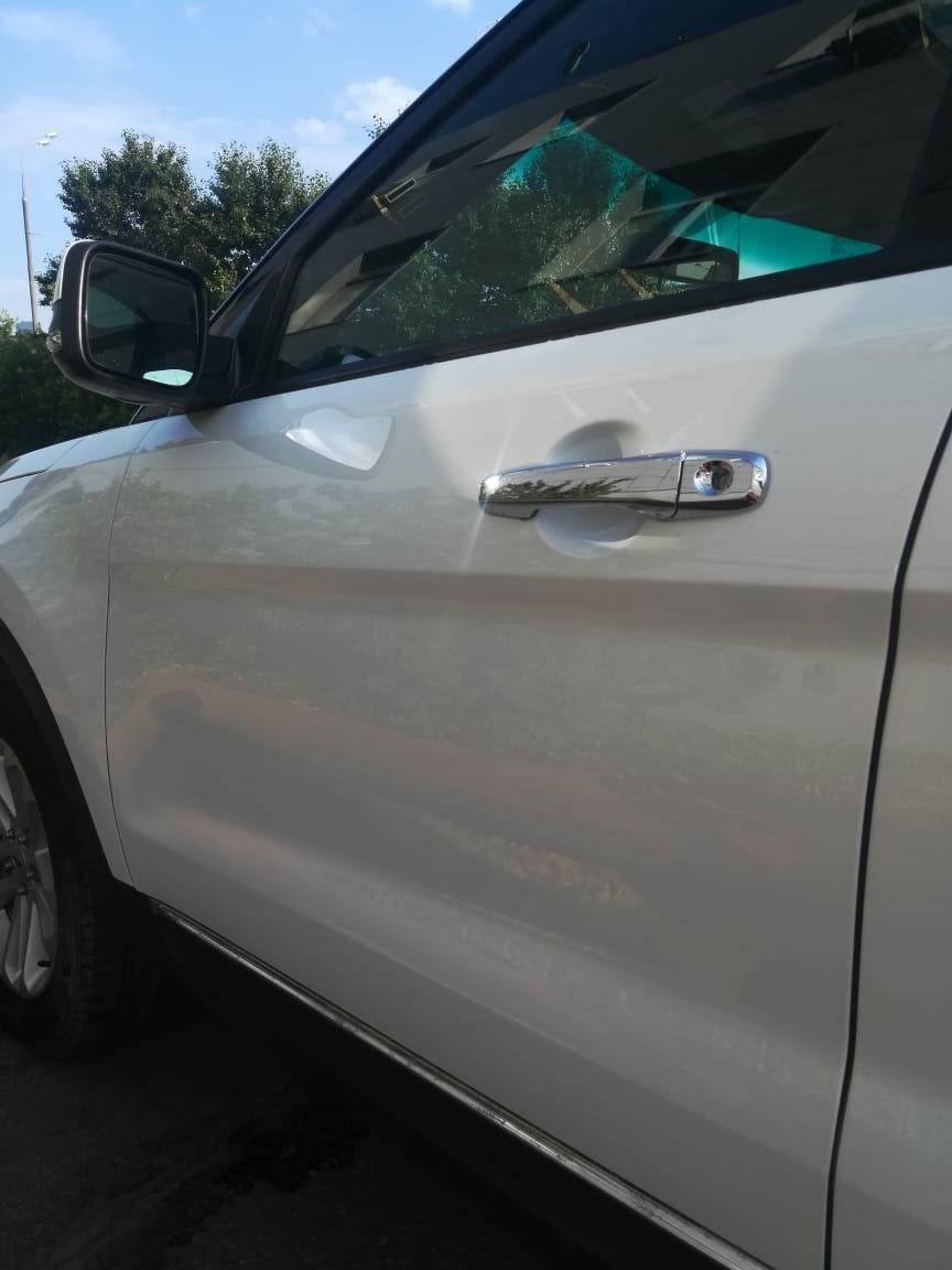 Ремонт салона и бампера форд эксплорер 125125