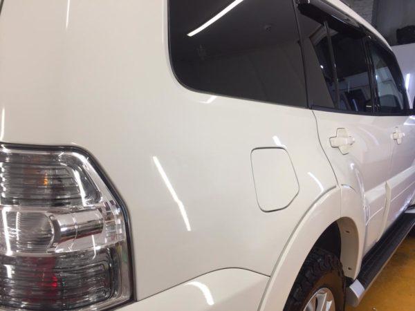 Полировка и защита кузова Митсубиси 66