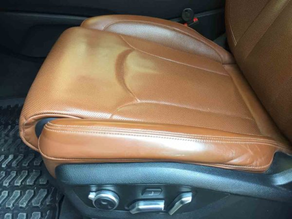 Реставрация сидений Ауди Q7 99