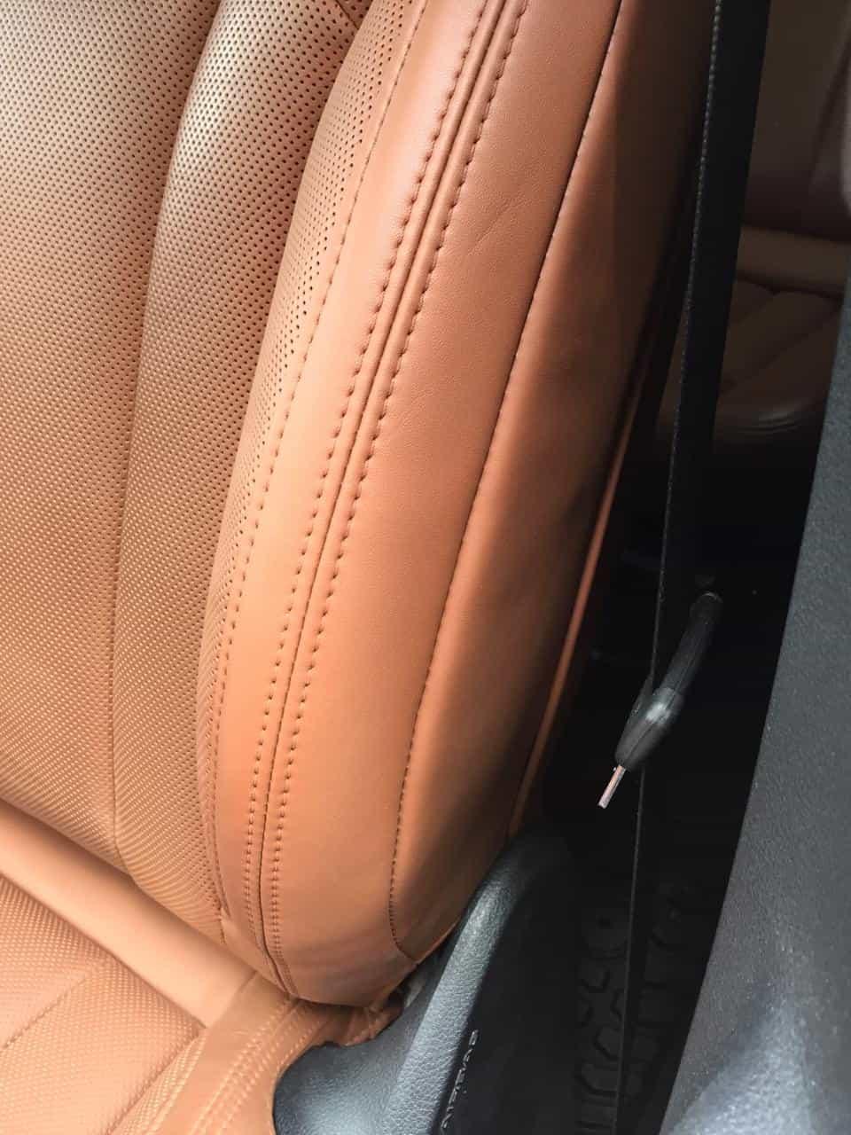 Реставрация сидений Ауди Q7 777