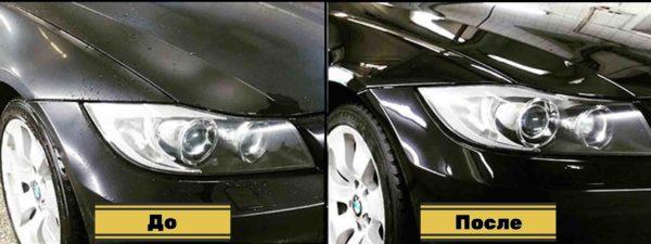 керамическая полировка кузова авто 33