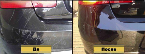 глубокая полировка кузова авто 33