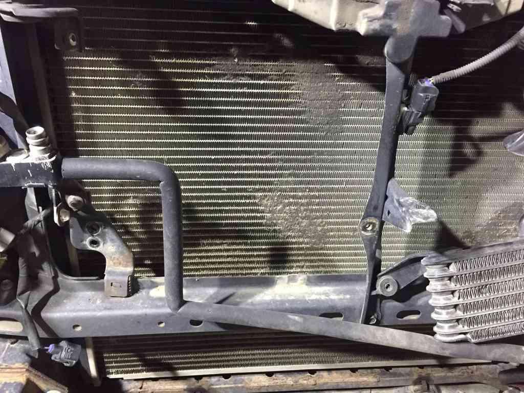 Мойка радиатора тайота ландкрузер прадо 1344