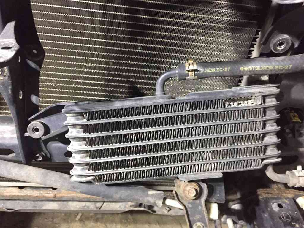 Мойка радиатора тайота ландкрузер прадо 1244