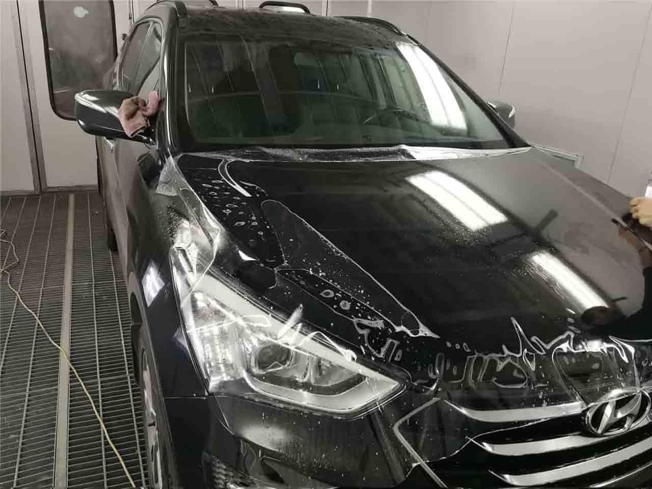 Оклейка автомобиля винилом в Москве картинка 2