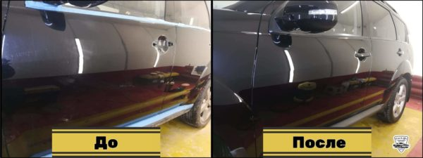 Полировка кузова автомобиля 22