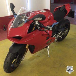 Полировка мотоцикла