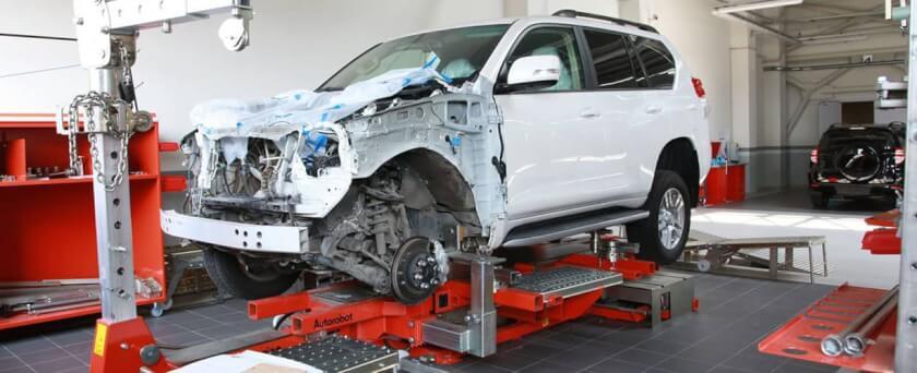 Восстановление, ремонт геометрии кузова авто