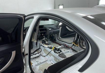 Сушка салона BMW 316 I